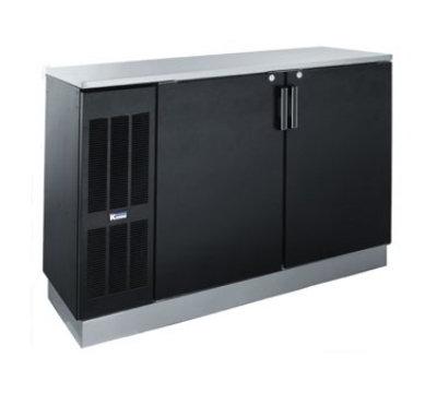 """Krowne BS60L 60"""" (2) Section Bar Refrigerator - Swinging Solid Doors, 115v"""