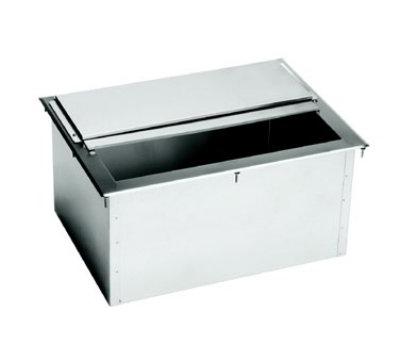 "Krowne D2712-7 Ice Bin - 87-lb Capacity, Sliding Cover, 27x20"", Cold Plate"