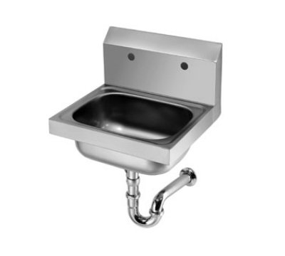 Krowne Metal HS-20 Wall Mount Hand Sink w/ Drain & P-Trap Restaurant Supply