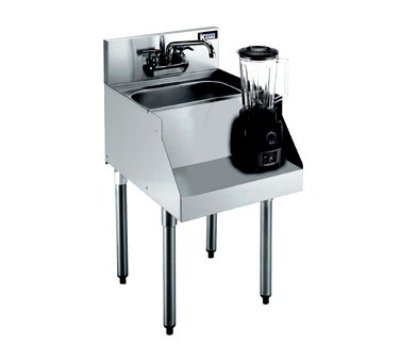 Krowne Metal KR21-14BD Liquid Dump Sink/Blender Station 14 x 26-in Restaurant Supply