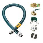 "Krowne M12524K 24"" Gas Connector Kit w/ 1-1/4"" Male/Male Couplings"