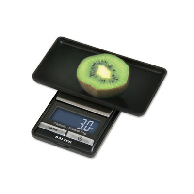 Taylor 1250USBKCRDR Compact Digital Scale, Black