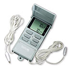 Taylor 1441E Digital Thermometer w/ Min & Max Memory Recall, 20 to 120 F Degrees