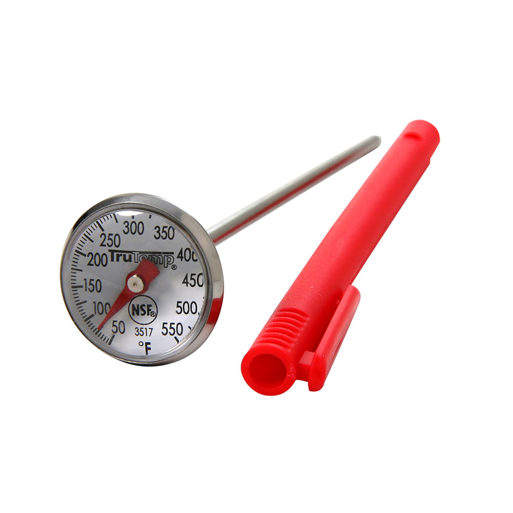 "Taylor 3517 Instant Read Thermometer w/ 1"" Dial, 50 to 550 F Degrees"