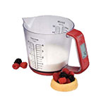 Taylor 3890 Measuring Cup Scale, Digital, 4.4-lb/2-kg, 1 Liter Volume