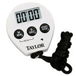 Taylor 5816N Timer w/ Stop Watch & Recall Feature, 3/8-in LCD Display
