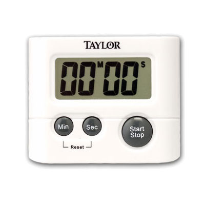 Taylor 5827-21 Digital Timer w/ .75-in LCD Readout, Minute & Second Timing