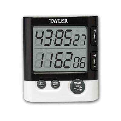 Taylor 5828 Dual Event Digital Timer/ Clock, Hour & Minute Timing
