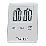 Taylor 584221 Mini Digital Timer - 99-min 59-sec Countdown, Magnet, LED Readout