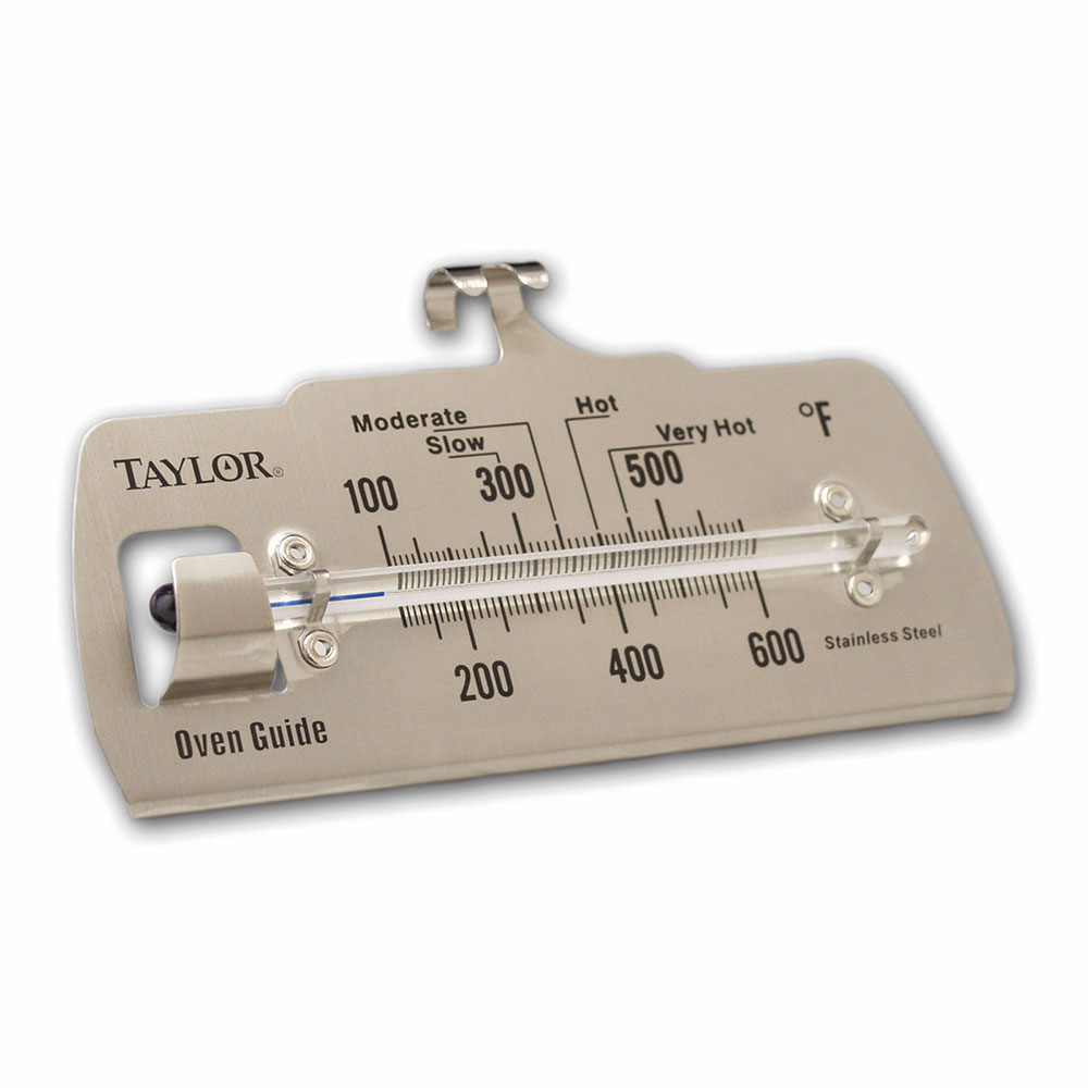Taylor 5921N Oven Thermometer, Flange w/ Stem, 100 to 600 F Degrees Range