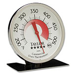 "Taylor 5995N Oven Thermometer w/ 3"" Dial Display, 200 to 500 Degree Capacity"