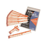 Taylor 8767 Dishwasher Temperature Test Strips, 180 F Degrees