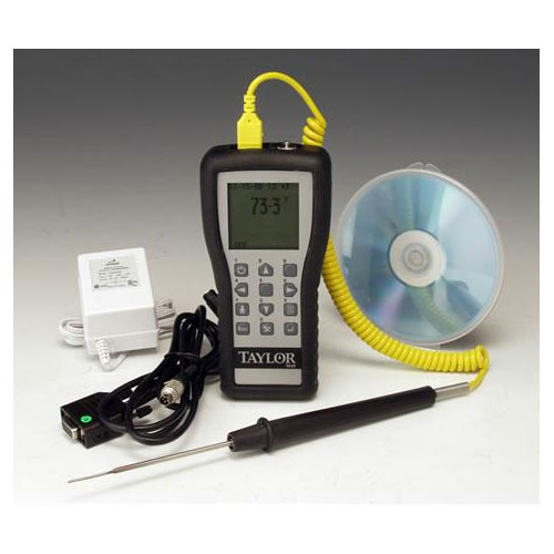 Taylor 9828 Thermocouple Temperature Recording Data Logger