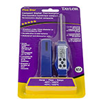 Taylor R000210 Compact Digital Thermometer - -40° to 450° F, LCD Display