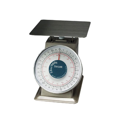 Taylor THD32 Portion Scale w/ Fixed Dial, 32-oz, 1/8-oz Graduation