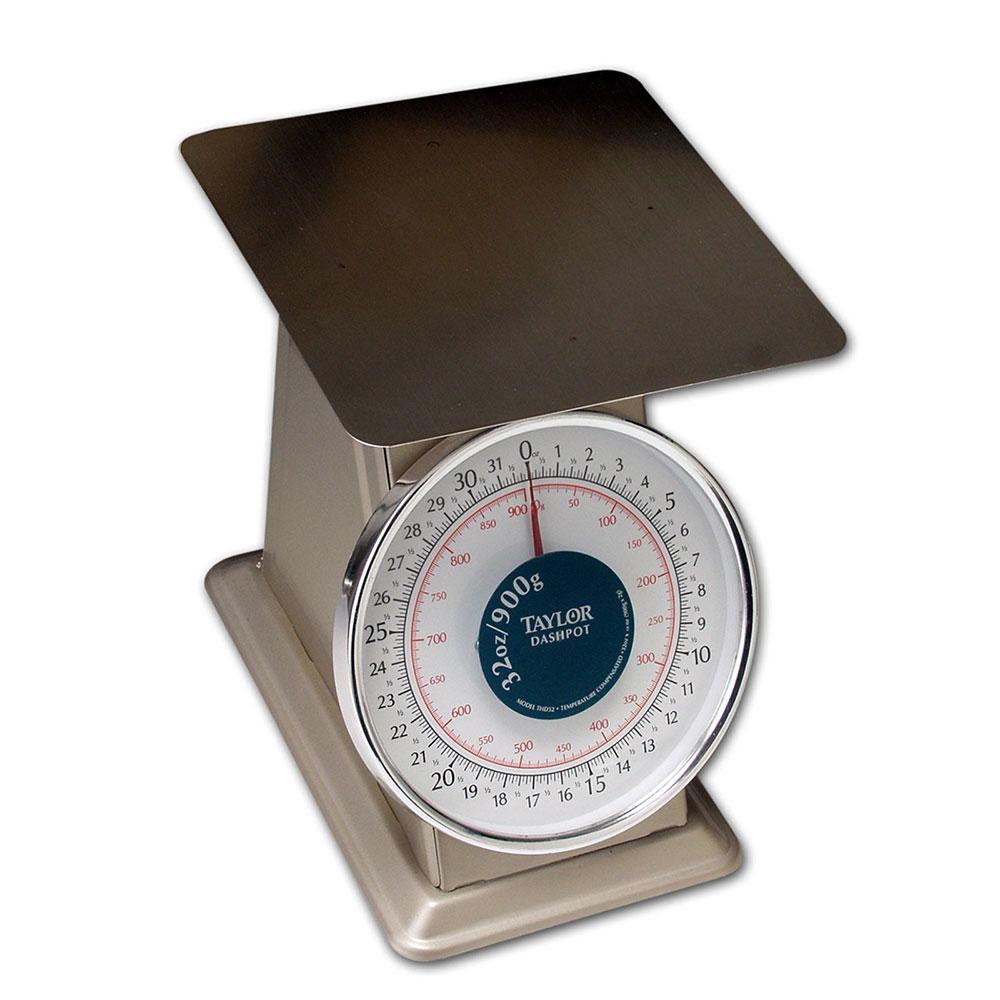 Taylor THD32D Scale, Portion, 32 oz x 1/8 oz Graduation, ...