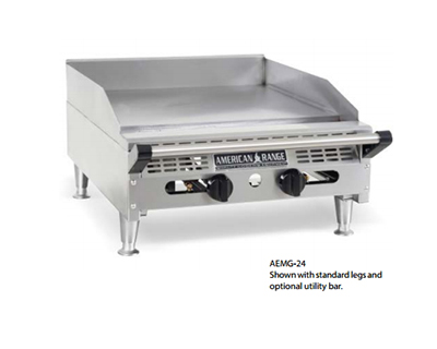 "American Range AEMG36 LP 36"" Gas Griddle - Manual, 3/4"" Steel Plate, LP"