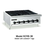 American Range AERB36NG 36 in Counter Charbroiler, Radiant Type, Full Width Grease Pan, NG