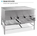 "American Range AHS-4836 LP 48"" Horizontal Broiler w/ Round Rod Grates, Stainless Exterior, 250000-BTU, LP"