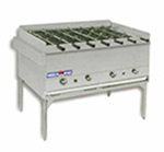 "American Range AHSR-48 NG 48"" Horizontal Broiler w/ 7-Spits & Stand, Stainless Exterior, 250000-BTU, NG"