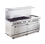 "American Range AR12G-10B 72"" 10-Burner Gas Range with Griddle, NG"