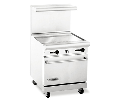 "American Range AR30-30G 30"" Gas Range with Griddle, LP"