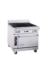 "American Range AR3RB 36"" Gas Range with Charbroiler, NG"