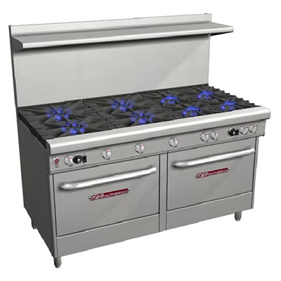 "American Range AR48G 48"" Gas Range with Griddle, NG"