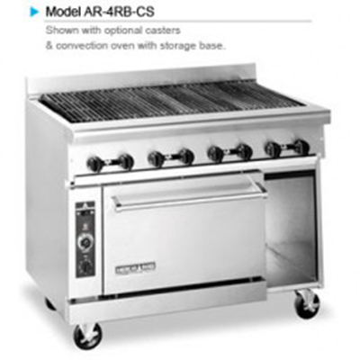 "American Range AR-5RB 60"" Gas Range with Charbroiler, LP"