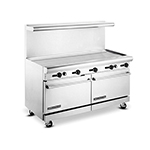 "American Range AR60G 60"" Gas Range with Griddle, LP"
