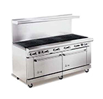 "American Range AR-6RB 72"" Gas Range with Charbroiler, NG"