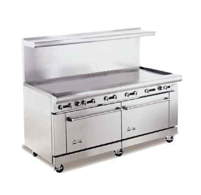 "American Range AR72G 72"" Gas Range with Griddle, NG"
