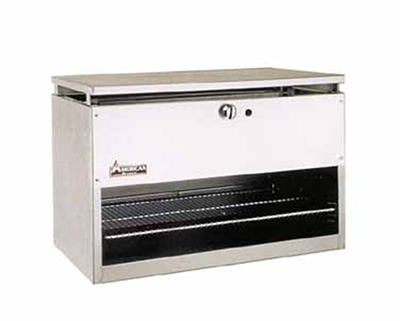"American Range ARCM-84 84"" Gas Cheese Melter w/ Infrared Burner, Stainless, LP"
