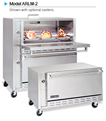 American Range ARLM-2 Double Multi Purpose Deck Oven, NG