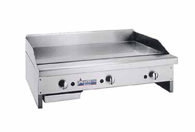 American Range ARMG-160 LP 60-in Counter Griddle w/ Smooth Steel Plate, Manual, 150000-BTU, LP