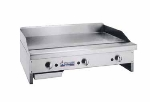 "American Range ARMG12 NG 12"" Gas Griddle - Manual, 3/4"" Steel Plate, NG"