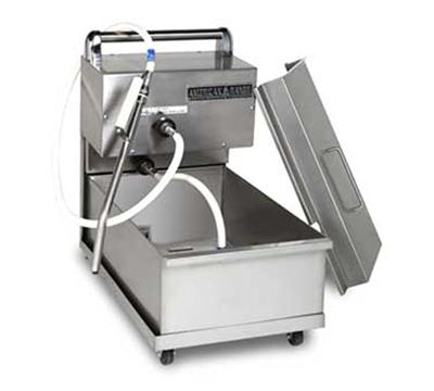 American Range ARPFS-45 Portable Oil Filtration System w/ 60-lb Oil Capacity, Floor Model, Stainless