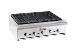 "American Range ARRB48 NG 48"" Counter Charbroiler w/ Removable Radiants, Stainless Front & Trim, NG"