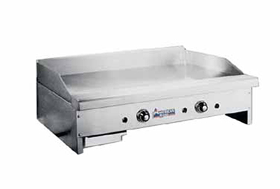 "American Range ARTG-72 LP 72"" Gas Griddle - Thermostatic, 3/4"" Steel Plate, LP"