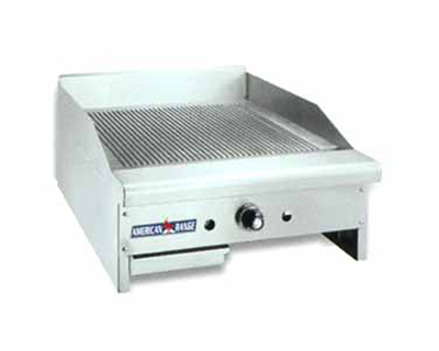 "American Range ARTGG24NG 24"" Gas Griddle - Thermostatic, 1""  Plate, NG"