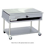 "American Range ARTY-48 LP 48"" Teppan-Yaki Griddle w/ Polished Steel Plate, Manual, 30,000-BTU, LP"