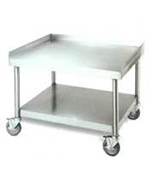 American Range ESS-72 Equipment Stand w/ Open Base, Stainless, 72 x 30 x 24-in