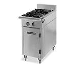 "American Range HD11-2-M 11"" 2-Burner Gas Range, LP"