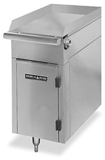 American Range HD17-SP-M LP 17-in Heavy Duty Range Match Spreader Plate, Modular