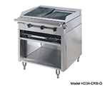 "American Range HD34-17TG-1FT-M 34"" Gas Range with Griddle & French Top, LP"