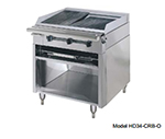 "American Range HD34-17VG-1FT-1 34"" Gas Range with Griddle & French Top, LP"