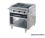 "American Range HD34-17VG-1FT-1C 34"" Gas Range with Griddle & French Top, LP"