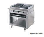 "American Range HD34-17VG-1FT-M 34"" Gas Range with Griddle & French Top, NG"