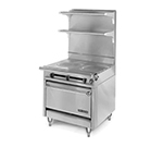 "American Range HD34-2FT-1C 34"" Gas Range with French Top, NG"