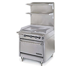 "American Range HD34-34TG-M 34"" Gas Range with Griddle, NG"